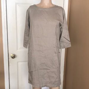 The Company store linen dress